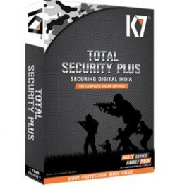 K7 Total Security Plus single user