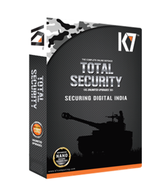 K7 Total Security  three user